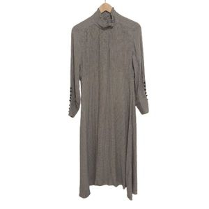 Zara woman colonial cottagecore turtleneck dress